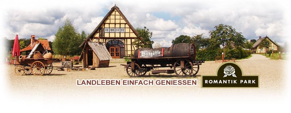 Romantikpark -Landleben